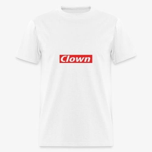 Clown box logo - Men's T-Shirt
