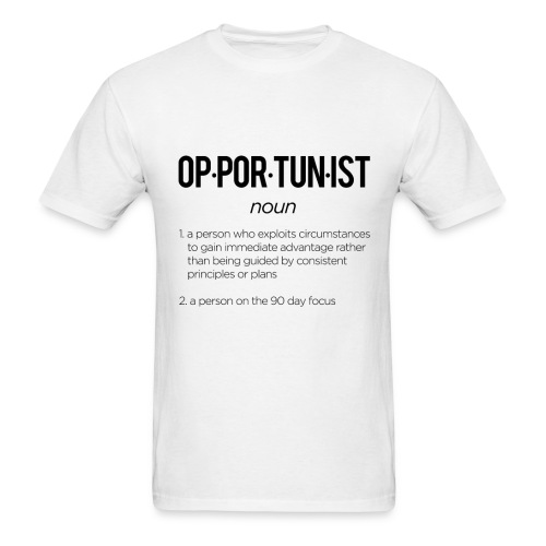 Opportunist - Men's T-Shirt