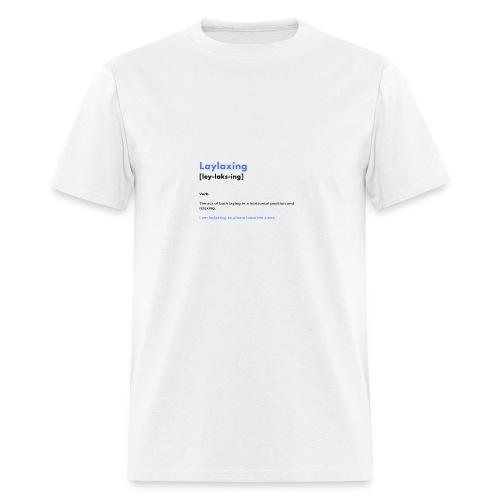 laylaxing blue - Men's T-Shirt