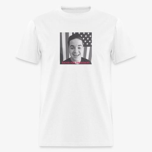 DAVID FOR PRESIDENT - Men's T-Shirt