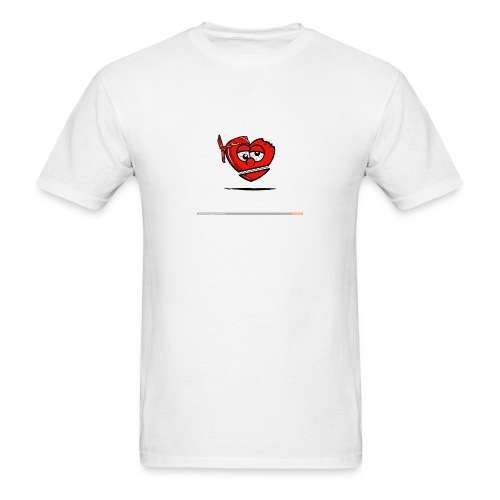GLO Heart - Men's T-Shirt