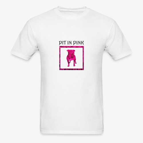 PIT IN PINK - Men's T-Shirt