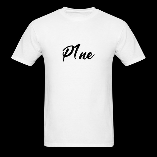 P1neMusic Black - Men's T-Shirt