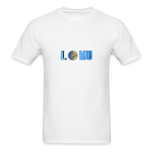Blue T or CT - Men's T-Shirt
