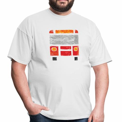 Iconic Red Bus - Men's T-Shirt
