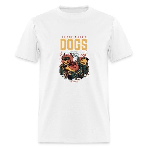 THREE ASTRO DOGS - Men's T-Shirt