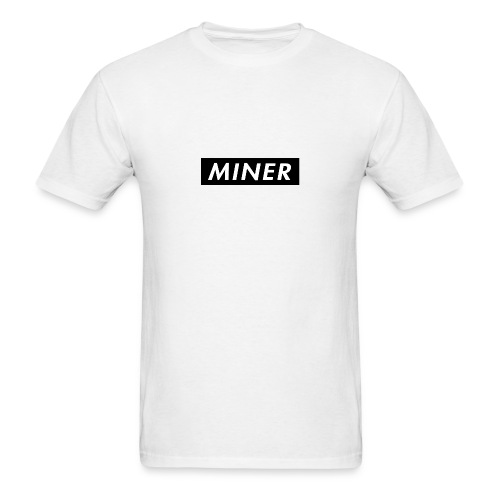 Miner Box Logo - Men's T-Shirt