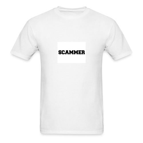 Basic Scammer Tee - Men's T-Shirt