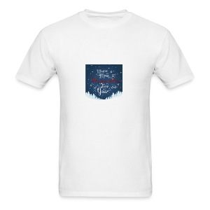 Winter Theme - Men's T-Shirt