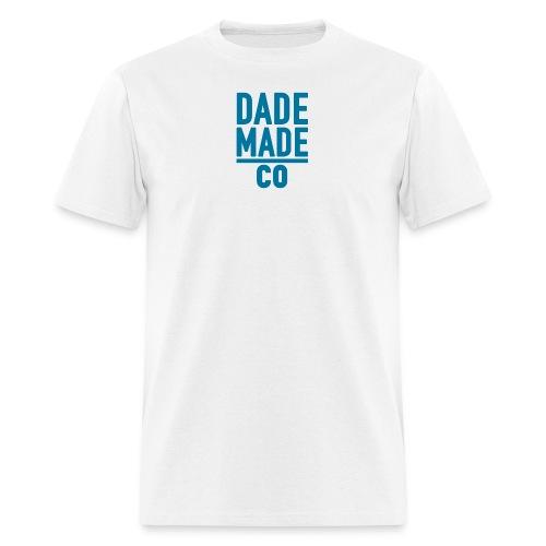 dademadelogoaqua - Men's T-Shirt
