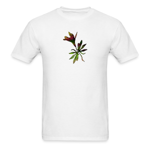Gradient Flower - Men's T-Shirt