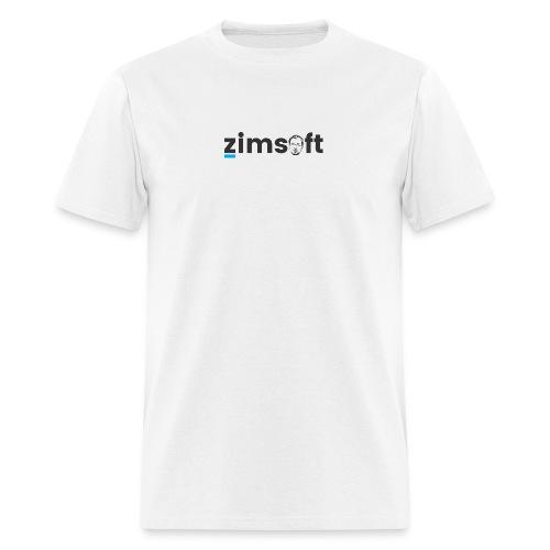 zimsoft dark cropped - Men's T-Shirt