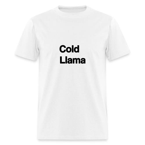 Cold Llama - Men's T-Shirt
