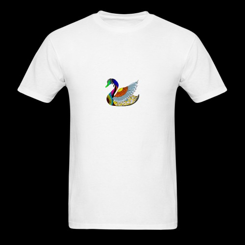 the swan - Men's T-Shirt