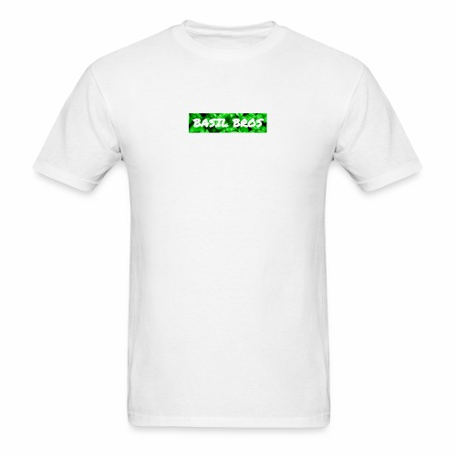 Basil Bros logo - Men's T-Shirt