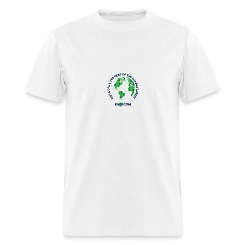TEARTH FIRST BACK SIDE - Men's T-Shirt