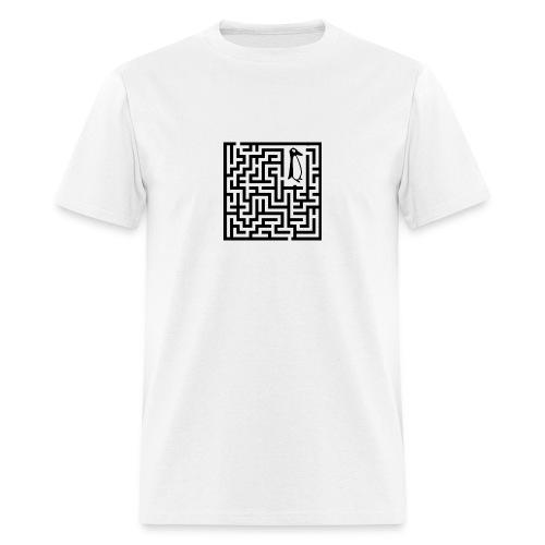 penguin Maze shirt - Men's T-Shirt