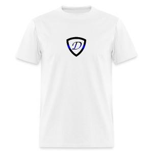 Dietz Foundation Thin Blue Line Badge - Men's T-Shirt