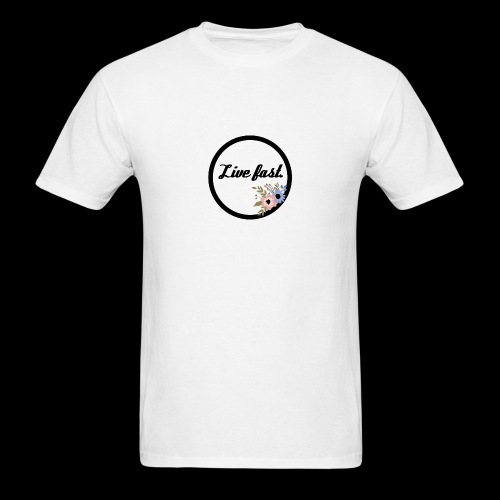 LIVE FAST. - Men's T-Shirt