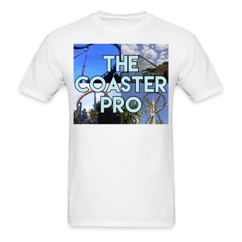 The Coaster Pro 4 Coaster Logo - Men's T-Shirt