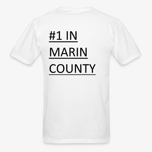 #1 Quizbowl Team in Marin County - Men's T-Shirt