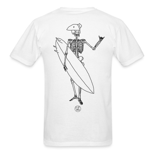 Skelly surfer - Men's T-Shirt