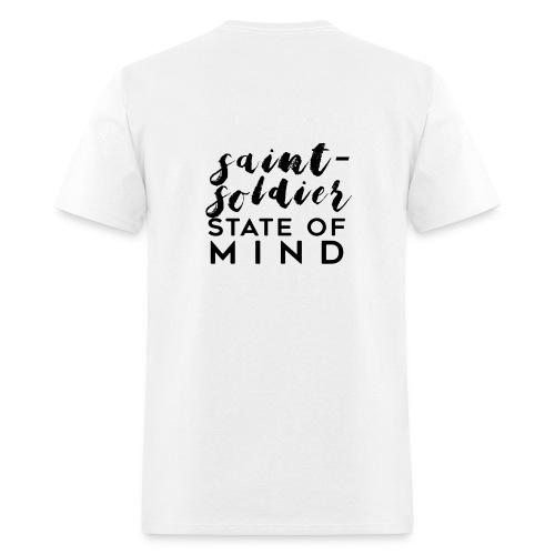 saint-soldier state of mind - Men's T-Shirt
