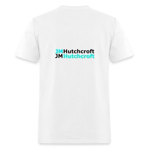 Back Printed JM Hutchcroft - Men's T-Shirt