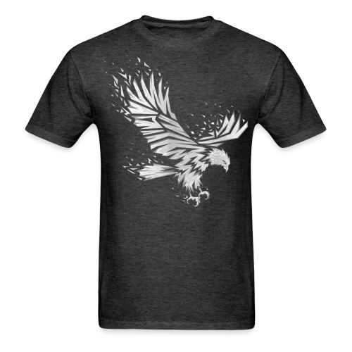 Fractured Raptor Grey - Men's T-Shirt