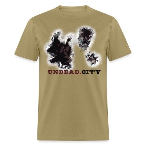 Zombie Undead City - Men's T-Shirt