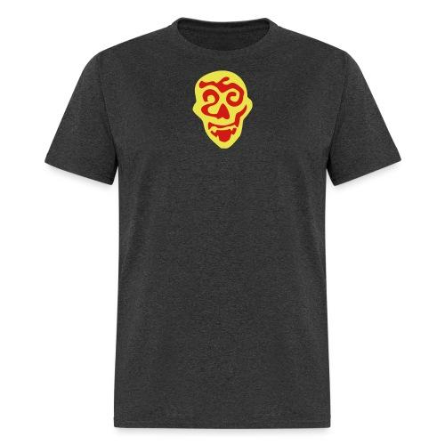 golden vampire skull - Men's T-Shirt