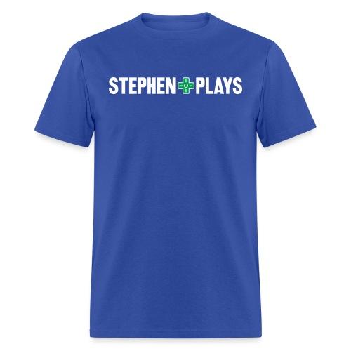 stephenplays_logo_shirt - Men's T-Shirt