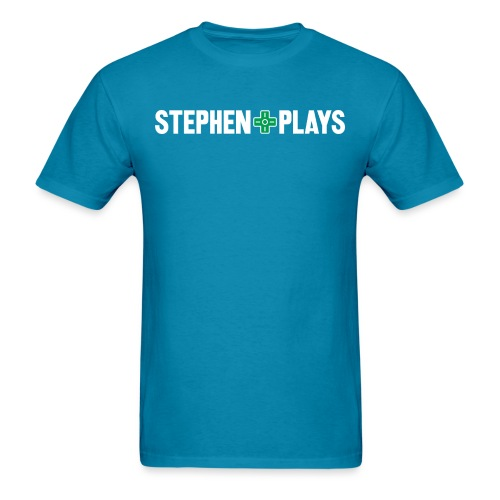 stephenplays_logo_shirt - Men's T-Shirt
