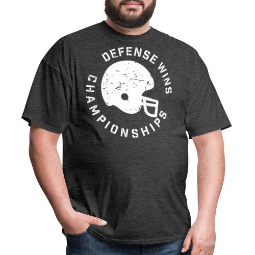 Defense Wins Championship Football - Men's T-Shirt