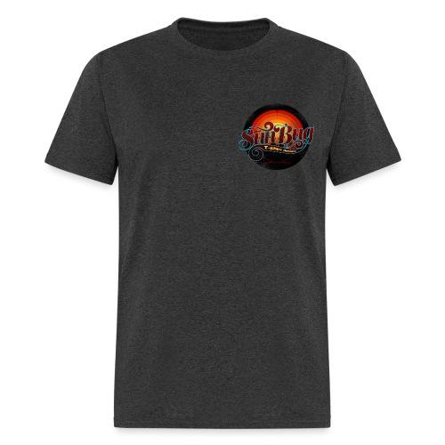 Large SunBug Logo distressed - Men's T-Shirt