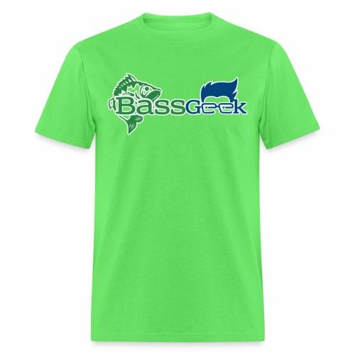 BassGeek Logo - Men's T-Shirt