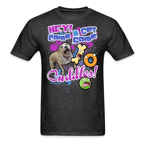 11 dnbo cuddle3 - Men's T-Shirt