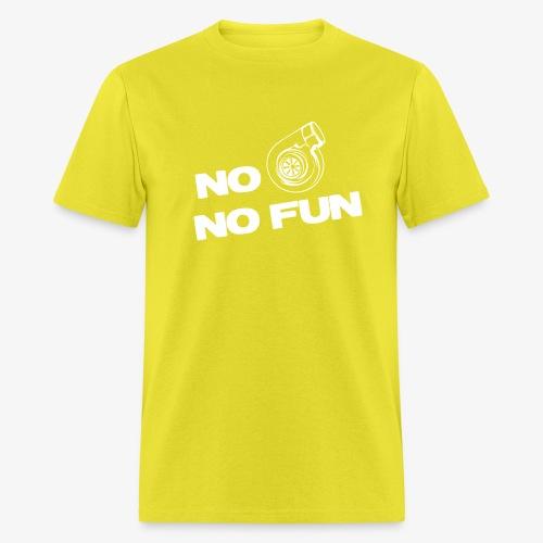 No turbo no fun - Men's T-Shirt