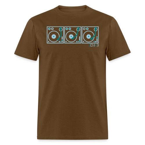 I DJ ON 3 Turntables Semipro DJ - Men's T-Shirt