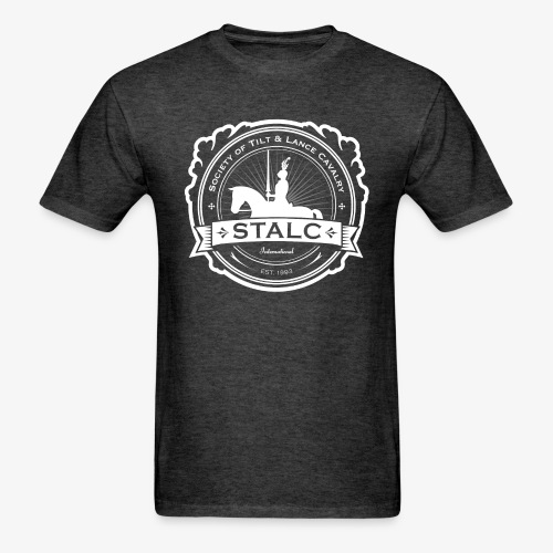 STALC Logo White only - Men's T-Shirt