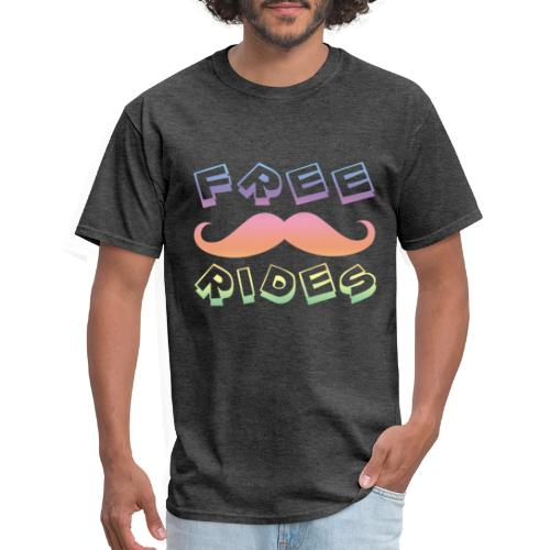 Mustache Rides - Men's T-Shirt