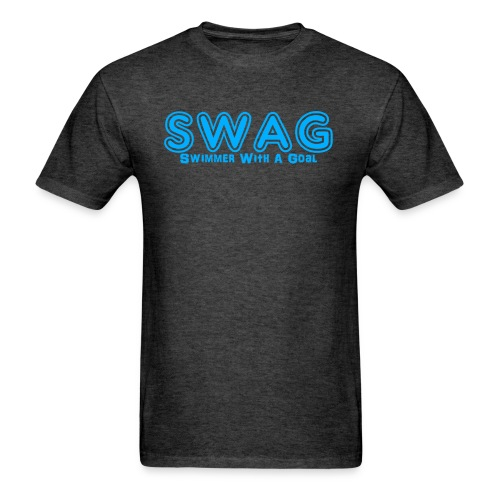SWAG Swimmer With a Goal - Men's T-Shirt