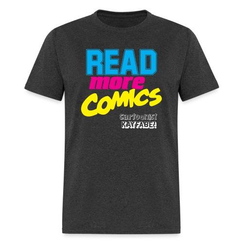 Read More Comics (Dark Shirt design) - Men's T-Shirt