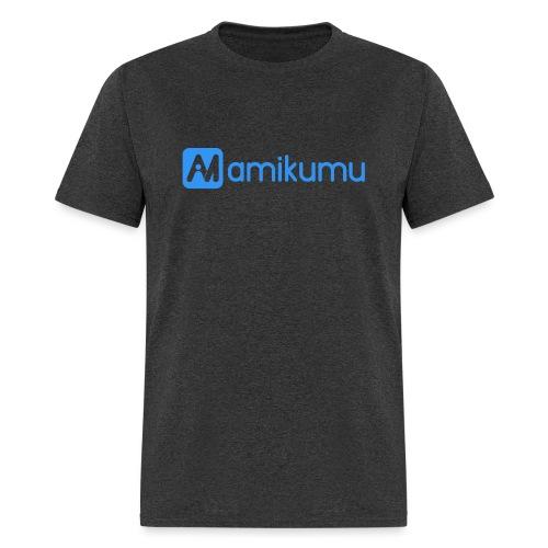 Amikumu Logo Blue - Men's T-Shirt