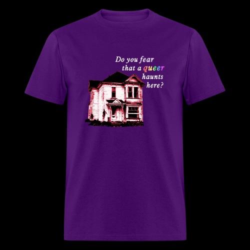 FearQueerHaunts_L - Men's T-Shirt