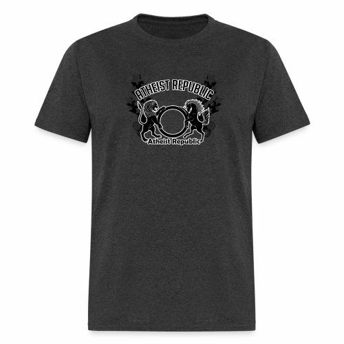 Atheist Republic Logo - Shooting Stars - Men's T-Shirt