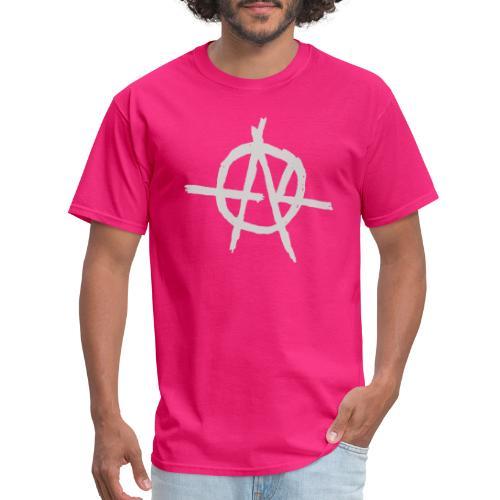Anarchy (Grey) - Men's T-Shirt