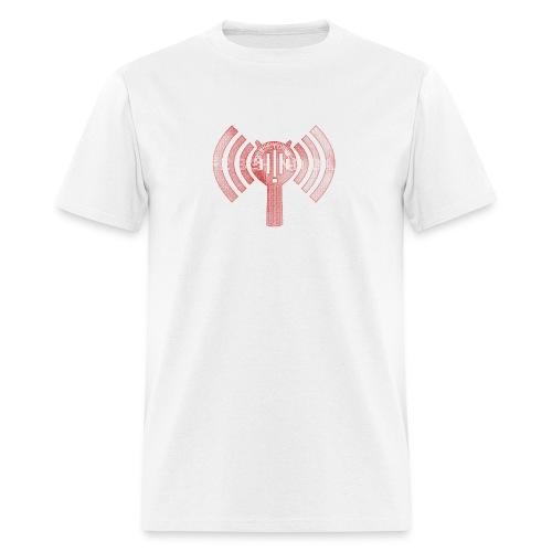 LBBPC Strainer Logo Red - Men's T-Shirt