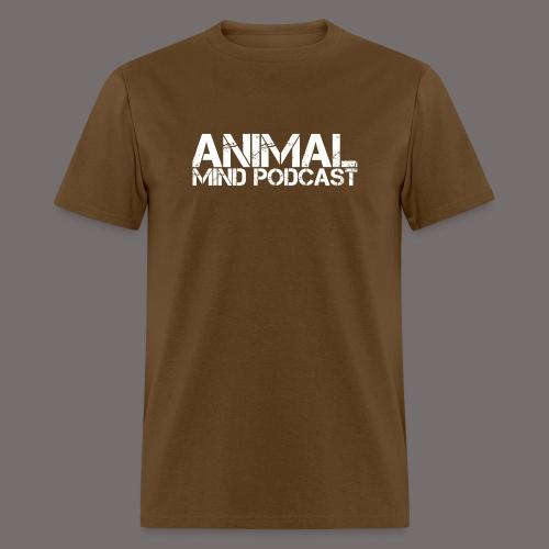 Animal Mind Podcast Stencil Logo - Men's T-Shirt