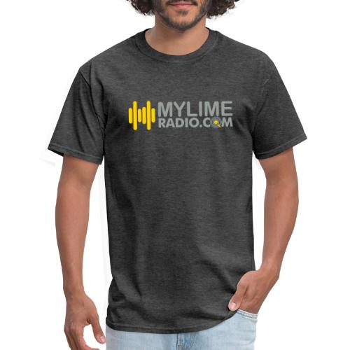 MyLimeRadio ALT LOGO (Tri Colour) - Men's T-Shirt